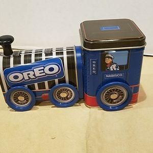 Nabisco Oreo Tin Box Train Engine